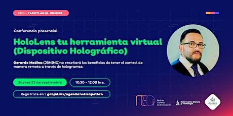 HoloLens tu herramienta virtual (Dispositivo Holográfico) entradas
