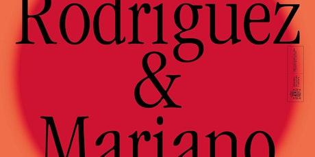 Afinidades Electivas: Eider Rodriguez &  Mariano Peyrou entradas