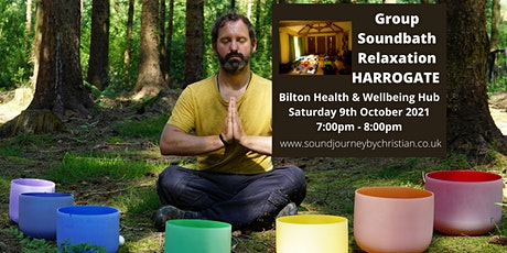 Soundbath Relaxation Experience: Himalayan and Crystal Singing Bowls tickets