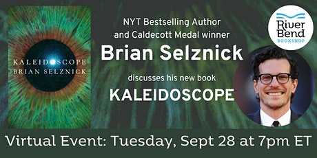 Virtual Author Event: Brian Selznick discusses Kaleidoscope tickets