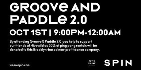 GROOVE AND PADDLE 2.0 tickets
