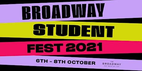 Broadway Student Fest 2021 tickets