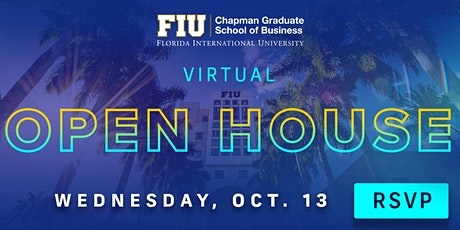 JOIN US ONLINE FOR OUR GRADUATE SCHOOL VIRTUAL OPEN HOUSE tickets