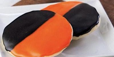 Halloween Half Moon Cookies plus  Pumpkin Spice Tiramisu