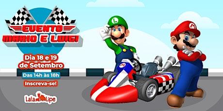 Mario e Luigi ingressos