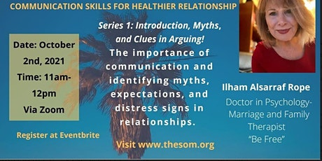 Communication skills for healthier relationships tickets