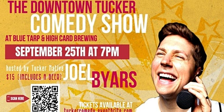 The September Downtown Tucker Comedy and Beer Festival tickets