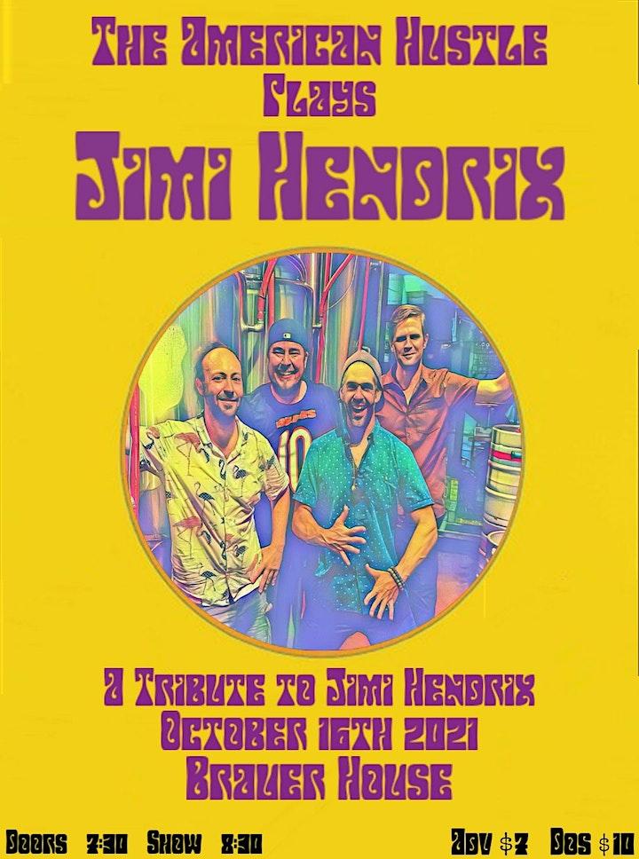 The American Hustle plays Hendrix at BrauerHouse Lombard image