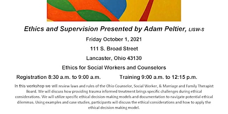 Ethics for Social Workers and Counselors tickets
