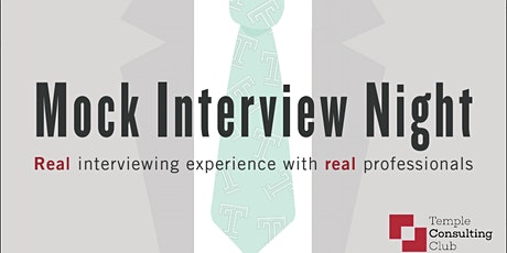 Temple Consulting Club's Case-based Mock Interviews tickets