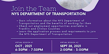 NYS DOT Info Session tickets