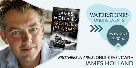 Brothers in Arms : Online event with James Holland tickets
