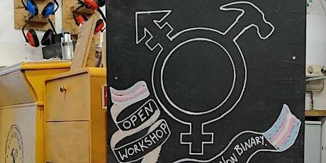 Women & Nonbinary Woodshop @Leith (Level 1 - 4, Beginner Friendly) tickets