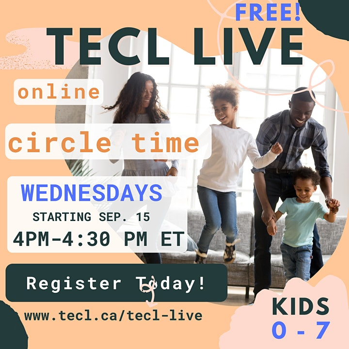 TECL Live for Kids on Zoom! image