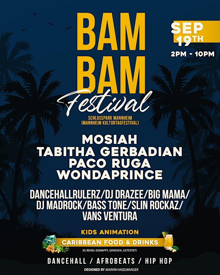 BAM BAM FESTIVAL: Bild