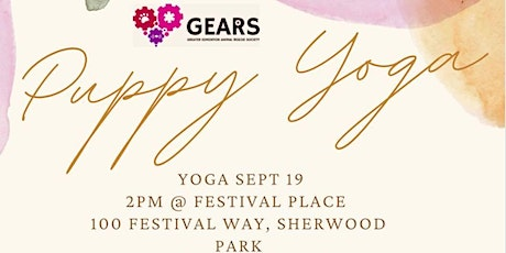 Puppy Yoga in the Park! tickets