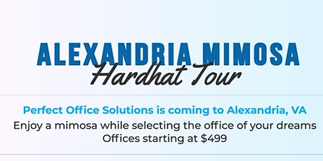 ALEXANDRIA HARDHAT MIMOSA TOUR! tickets