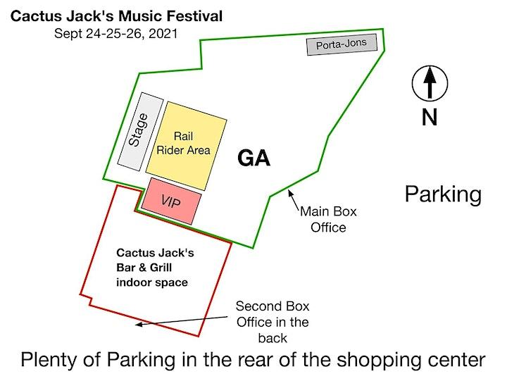 Cactus Jack's Music Festival/Sept. 24, 25, 26 image