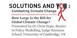 Chris Hope - How Large Is the Bill for Global Climate...