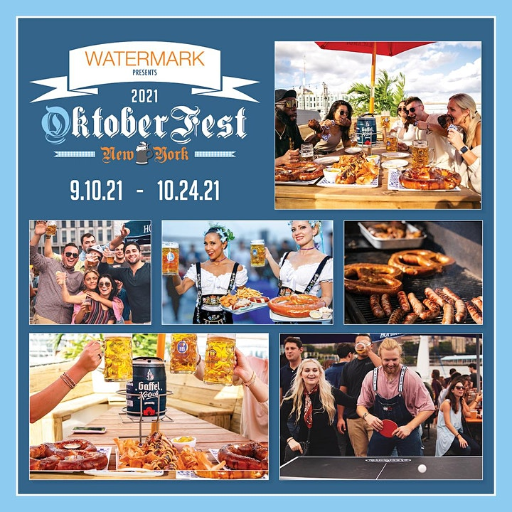 FRIDAYS: OktoberFest NYC 2021 at WATERMARK - Prost!! image
