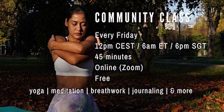 Free Community Yoga Class tickets