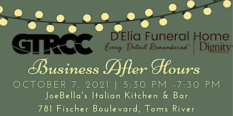 D'Elia  Business After Hours @JoeBellas tickets
