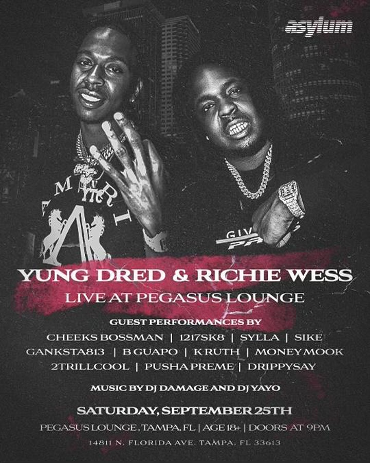 Yung Dred & Richie Wess Live and Friends image