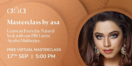 Masterclass by asa. Learn an Everyday Natural look tickets