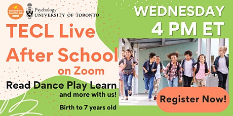 TECL Live for Kids on Zoom! tickets