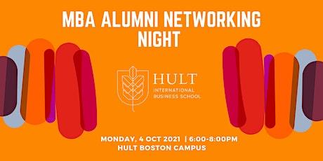 MBA ALUMNI NETWORKING NIGHT -BOSTON tickets