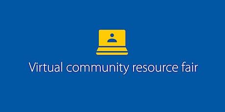 Virtual Community Resource Fair tickets