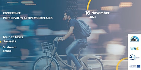 Post COVID-19 Active Workplaces Conference tickets
