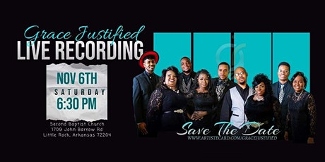 Grace Justified Live Recording tickets