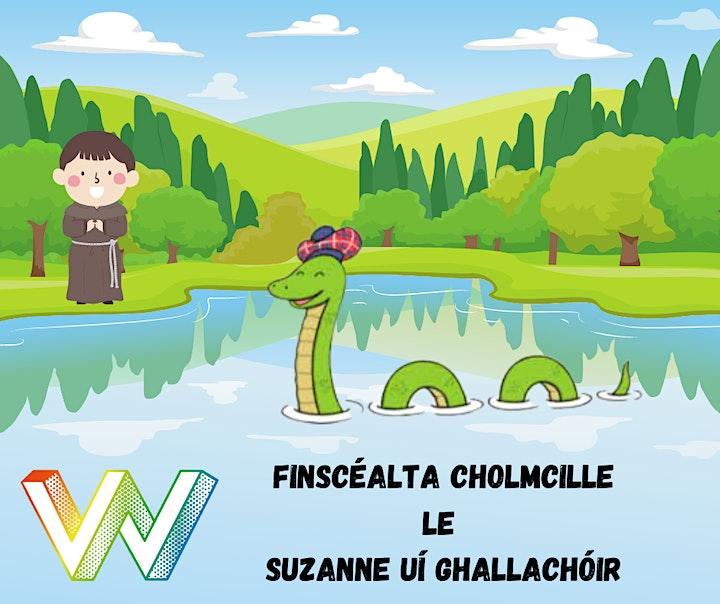 Wainfest 2021  - Finscéalta Cholmcille le Suzanne Ní Gallachóir image
