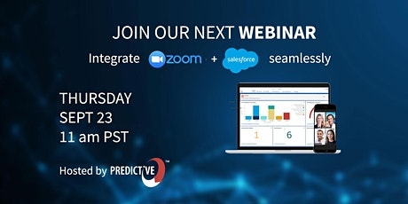 Integrate Zoom Webinar and Salesforce (Webinar) tickets