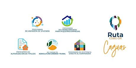 Ruta CDBG-DR | Caguas tickets