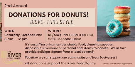 Donations for Donuts! tickets