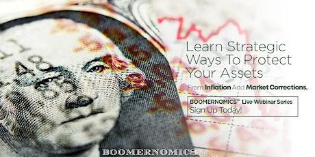 The BOOMERNOMICS Webinar - Money, Family & Legacy Planning tickets