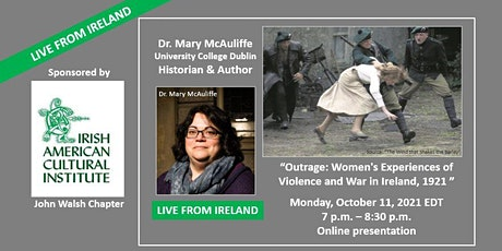 Outrage: Women's Experiences of Violence and War in Ireland, 1921 tickets