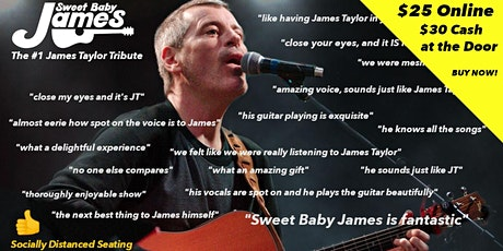 Sweet Baby James - America's #1 James Taylor Tribute (Louisville, KY) tickets