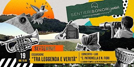 """19 SETTEMBRE 2021: TRA LEGGENDA E VERITA' // IL """"SIGNOR TEMPO"""" biglietti"""