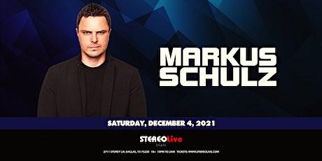 Markus Schulz - Stereo Live Dallas tickets