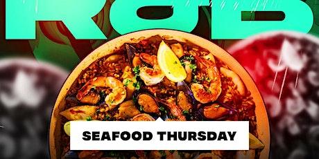 R & B Seafood Thursdays At Katra Nyc tickets