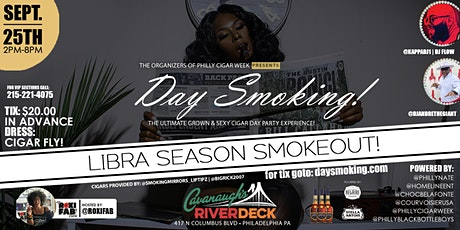 CIGARS IN THE CITY  PRESENTS THE LIBRA SEASON SMOKEOUT DAY PARTY! tickets