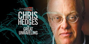 CHRIS HEDGES: THE GREAT UNRAVELING • TORONTO SEPT 2015