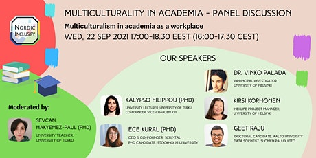 Multiculturality in Academia Panel Discussion tickets