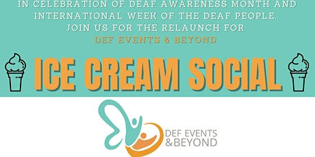 RELAUNCH PARTY-ICE-CREAM SOCIAL tickets