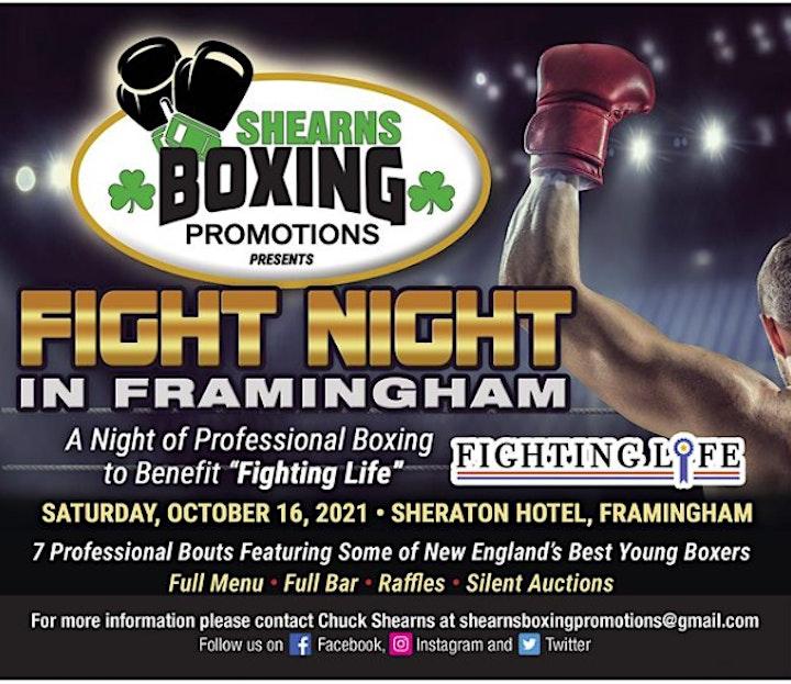 FIGHT NIGHT IN FRAMINGHAM image