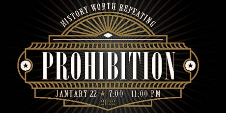 Prohibition 2022 - The Event of the Year tickets