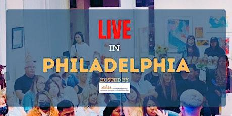 Live in Philadephia tickets